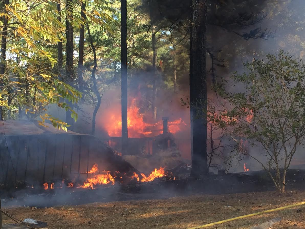 A Fire Destroyed Three Residences At The Pine Village Park Off Shorter Avenue On Saturday